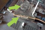 Важно очистить не только кулер, но и прочие детали, например корпус