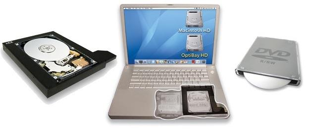 optibay na noutbook Модернизация ноутбука